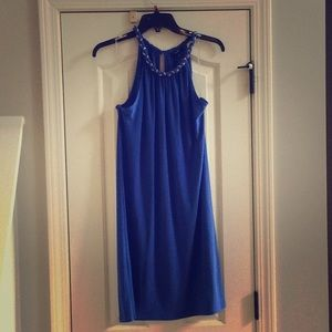 MSK Blue Dress